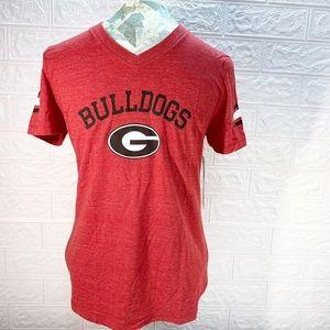Girls Georgia bulldog T-shirts